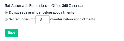 Office 365 Outlook Sync – Acuity Scheduling