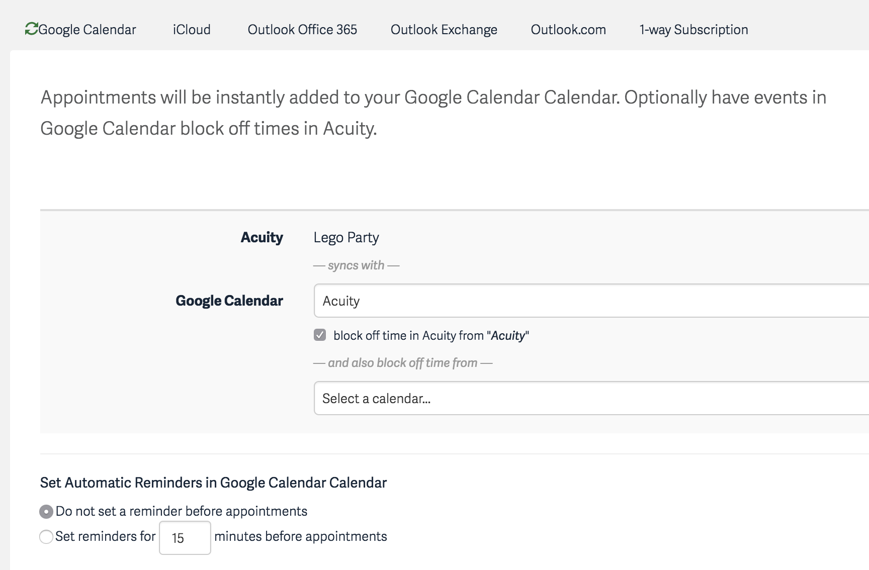 how to connect two google calendars