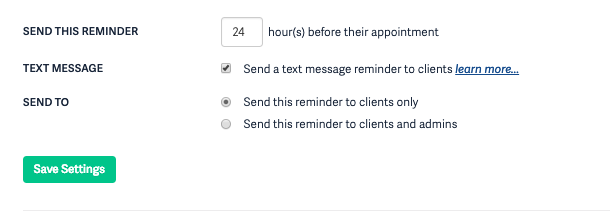 Reminder Notifications: Emails & Text Messages – Acuity Scheduling