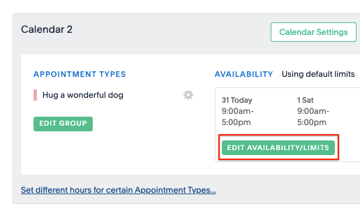 Double Booking and Overlapping Appointments – Acuity Scheduling